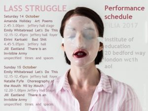 Filia Performance Publicity