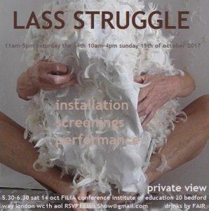 Lass Struggle Poster