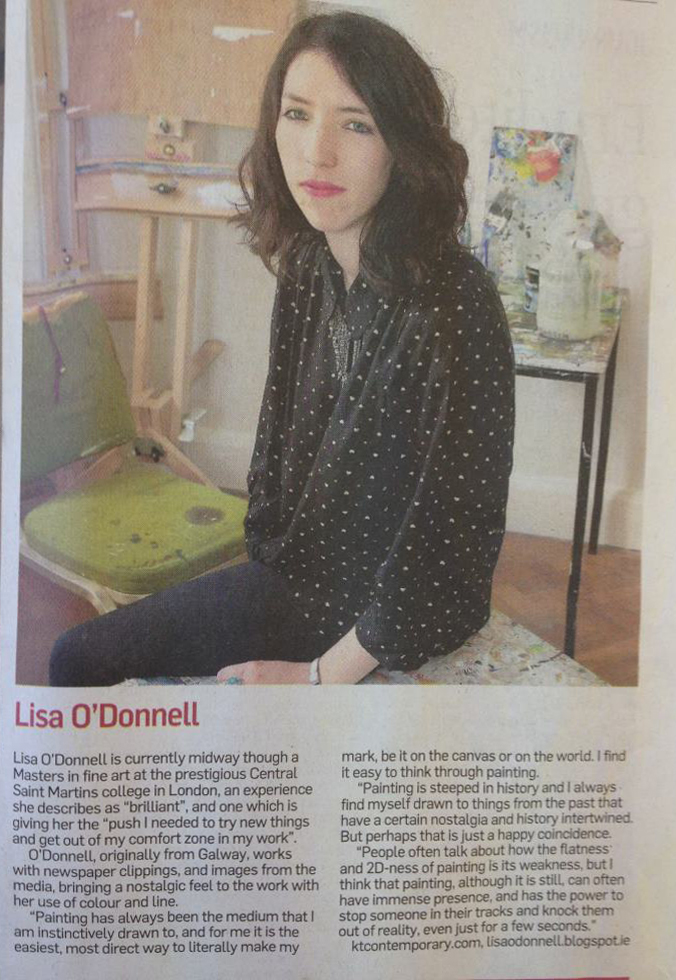 irish times article August 2012