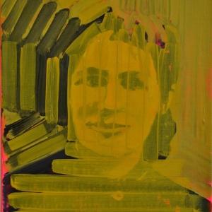 Nora, oil on linen, 30cm x 22cm, 2015